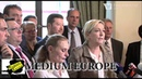 CZ Marine Le Pen in Prague 'Peace and Prosperity Beyond EU' conference