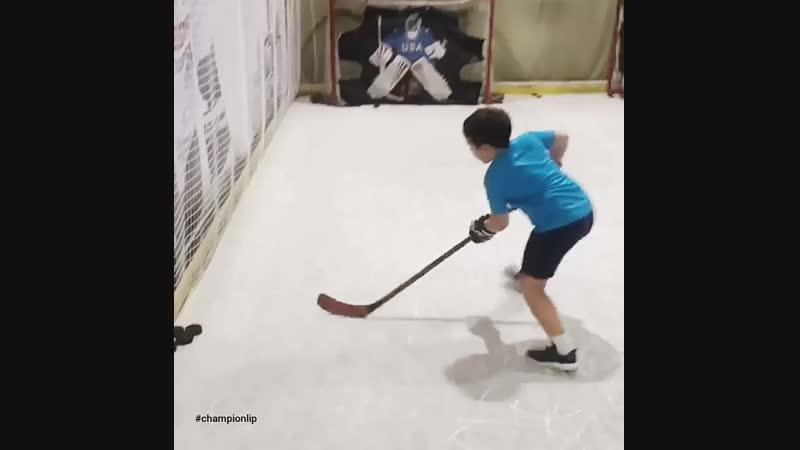Бросковые тренировки в Хоккейном центре ЧЕМПИОН , для детей и взрослых!