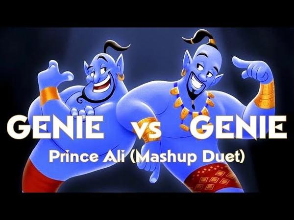 Prince Ali (Mashup Duet) - Robin Williams Will Smith