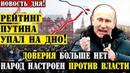 Народ отвернулся от Путина и Медведева/Паника в Кремле,рейтинг на нуле!24.03.19