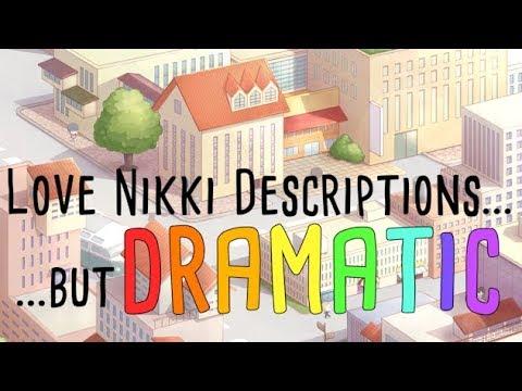 Love Nikki Descriptions, but Dramatic