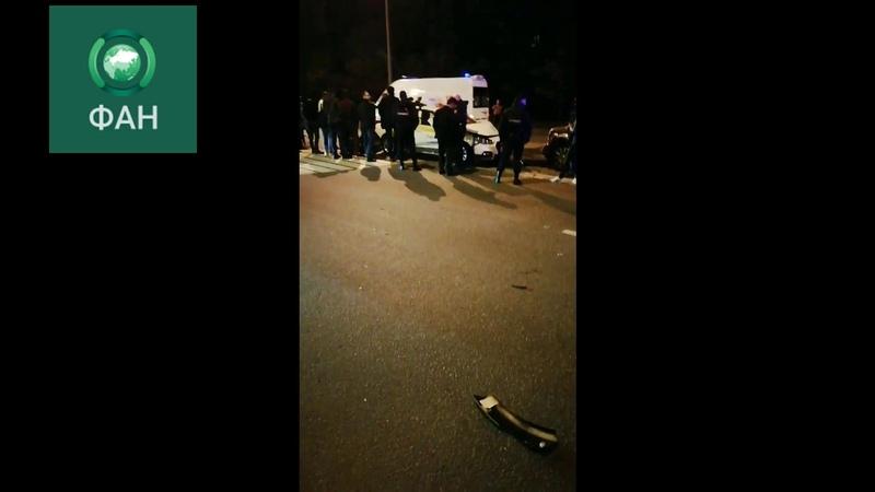 Второе за день ДТП с участием такси произошло в Москве
