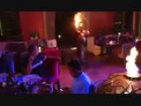Fire show AFRIKAN KINGZ by Serge koue