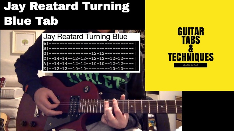 Jay Reatard Turning Blue Guitar Lesson Tutorial With Tabs Blood Visions