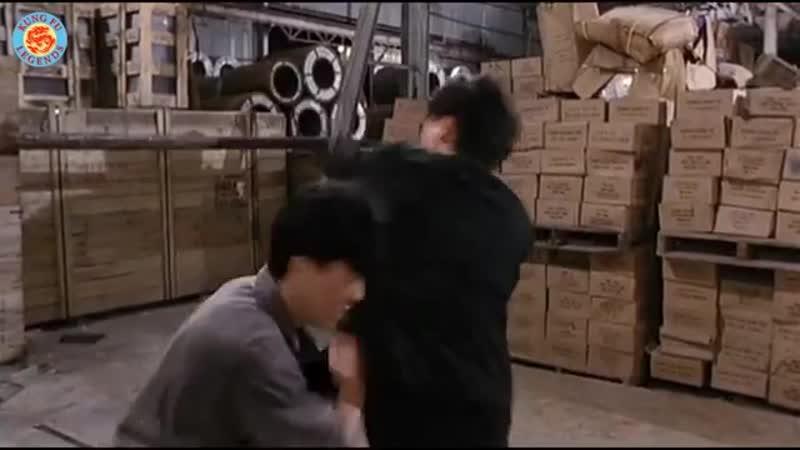Donnie Yen vs Robin Shou [Tiger Cage 2 _⁄ Sai hak chin _⁄ 1990]