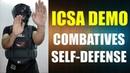 ICSDA COMBAT FORGE Combatives Self-Defense Demonstartion