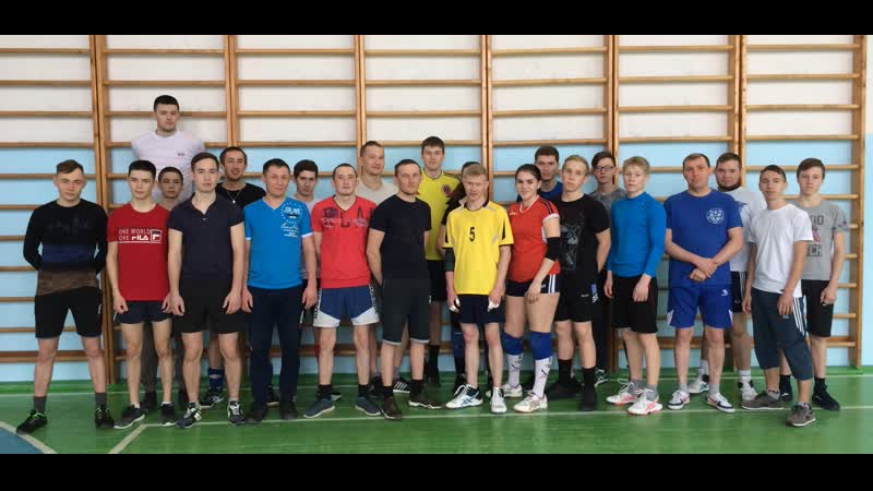 Волейбол, среди 4-х команд, наша Волипельгинская команда заняла 2-ое место. Тыловыл-Пельга 23.02.2019