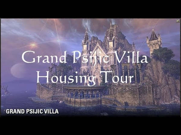 ESO Fashion -Grand Psijic Villa Homestead Tour