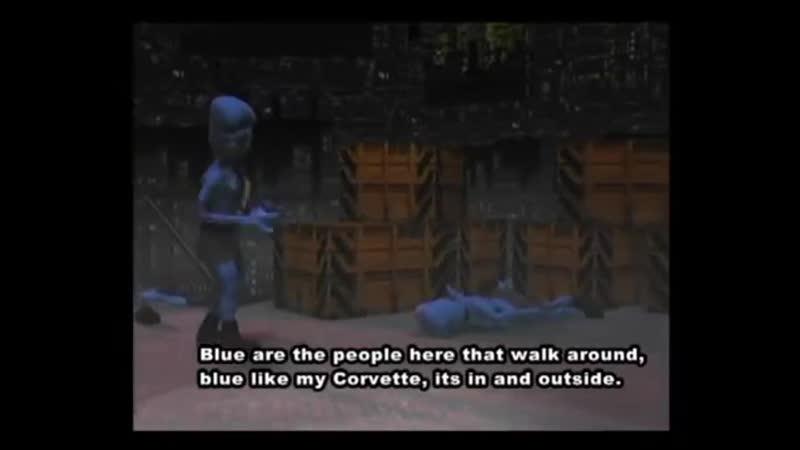 Eiffel 65 - Blue (Da Ba Dee) [Gabry Ponte Ice Pop Mix] (Original Video with subtitles) (360p)