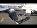 Emirates shares the love with Real Madrid and Paris Saint-Germain for Valentine's Day