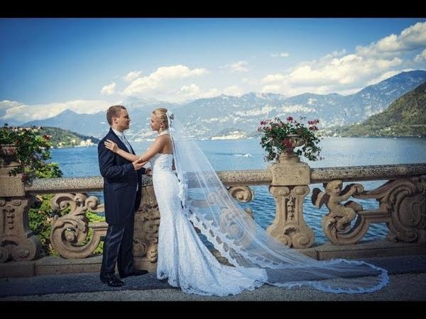 Наша свадьба мечты в Италии на озере Комо. Beautiful wedding on Como Lake, Italy.