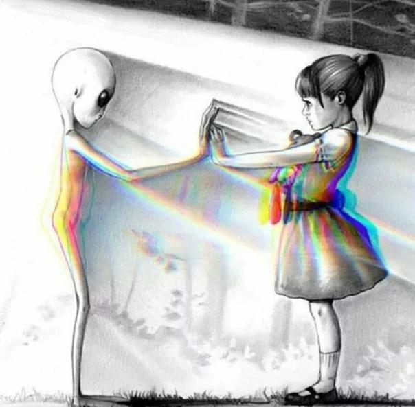 Инопланетяне похищают детей