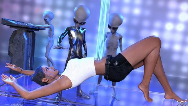 Как пришельцы насилуют землян