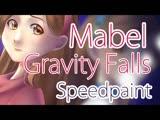 Rheka Gravity Falls - Mabel Reverse Speedpaint