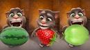 Aprende nombres de frutas colores con bebé My Talking Tom - Educación de animación dibujos animados