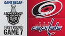 Hurricanes rally top Capitals in 2OT in Game 7