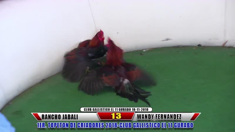 13 Rancho Jabali vs Wandy Fernandez