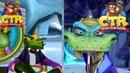 Crash Team Racing Nitro Fueled - All Cutscenes PS1 VS PS4 Graphical Comparison!