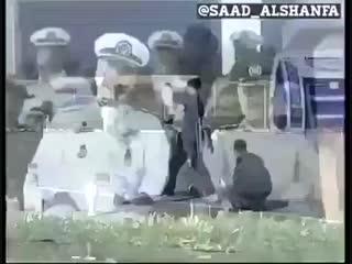 Бойцы иранского спецотряда против очень качественной вазы