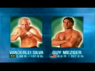 Wanderlei silva — guy mezger  (pride 10 — return of the warriors) aug / 27 / 2000