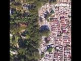 Богатство и нищета с квадрокоптера