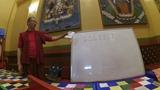 16.09.2018 Жалсан Данзан лама. Дуйра, тибетский язык. Дацан Гунзэчойнэй.
