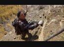 Каменное масло в горах Забайкалья