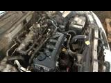 Первый запуск контрактного Двигателя QG15DE Nissan Almera N16