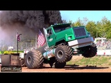 SemiTruckTractor Pulls! Over The Top Diesel Showdown - Session 1