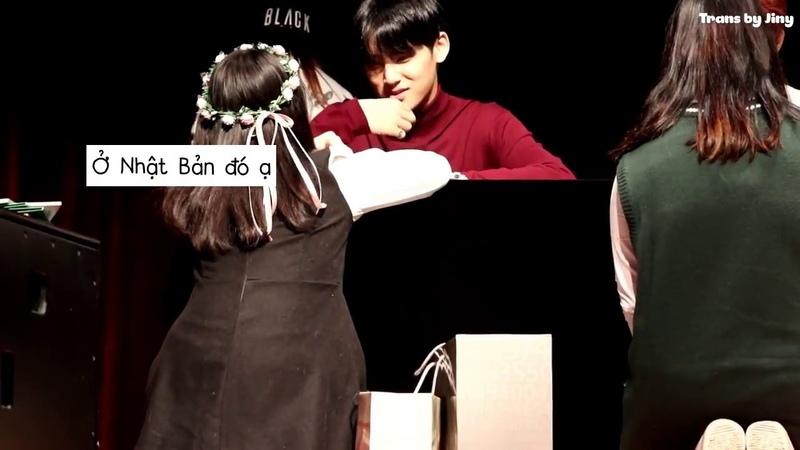 [Vietsub] Mingyu và mẩu chuyện nho nhỏ - SEVENTEEN Synnara Fansign @171111