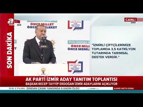 SonDakika! Başkan Erdoğan İzmirden müjdeyi verdi! Harika _ Videolar Live DJ_PATRON_HARİKA