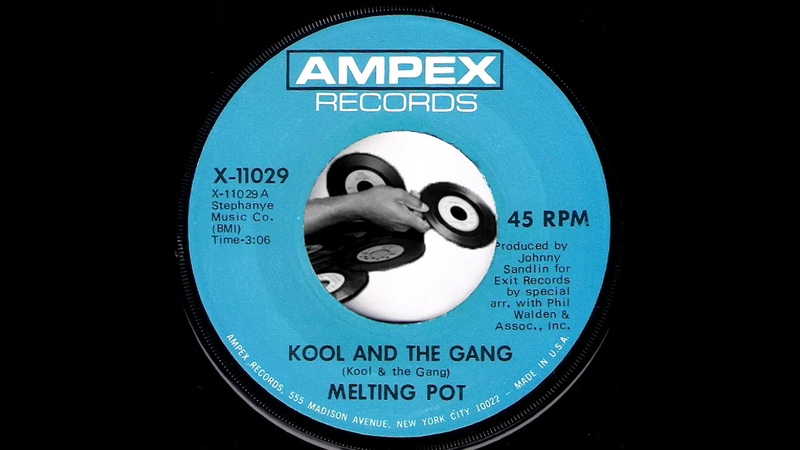 Melting Pot - Kool And The Gang [Ampex Records] 1970 Psychedelic Funk 45