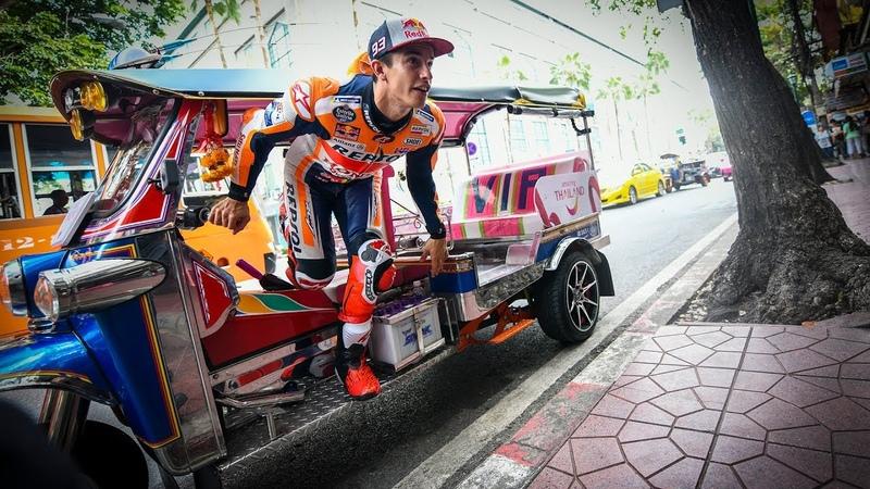 Bangkok to Buriram Marquezs banging arrival to Thailand