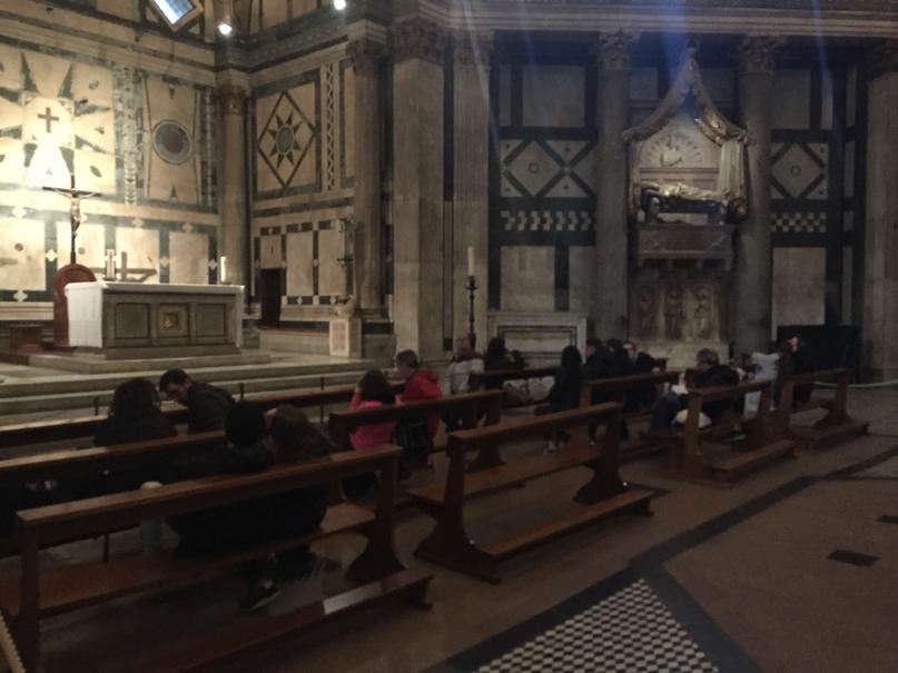 Приключения во Флоренции. Баптистерий