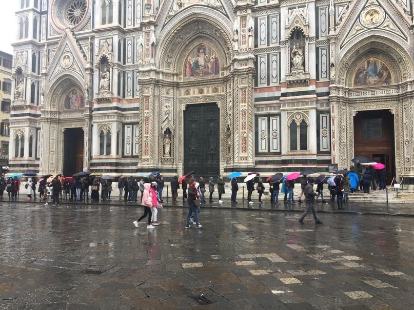 Приключения во Флоренции. Очередь внутрь Санта-Мария-дель-Фьоре