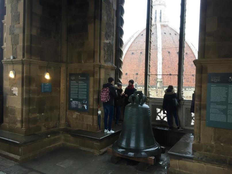 Приключения во Флоренции. Внутри башни Campanile de Giotto.