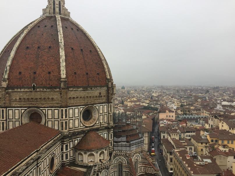 Приключения во Флоренции. Вид с башни Campanile de Giotto.