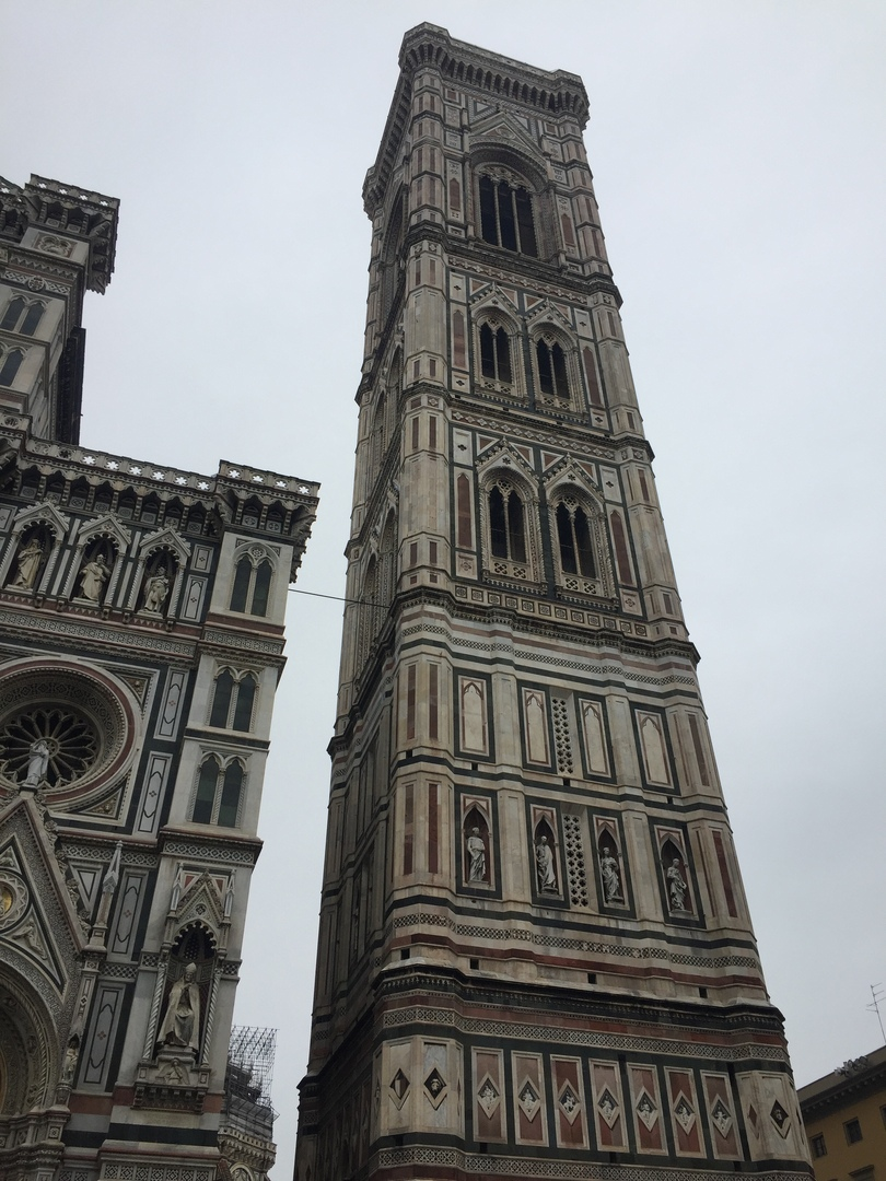 Приключения во Флоренции. Башня Campanile de Giotto.