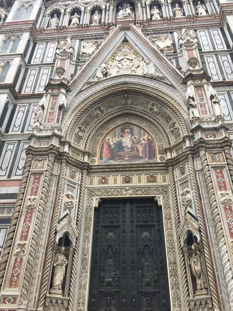 Приключения во Флоренции. Santa-Maria-del-FioreВид с башни Campanile de Giotto.