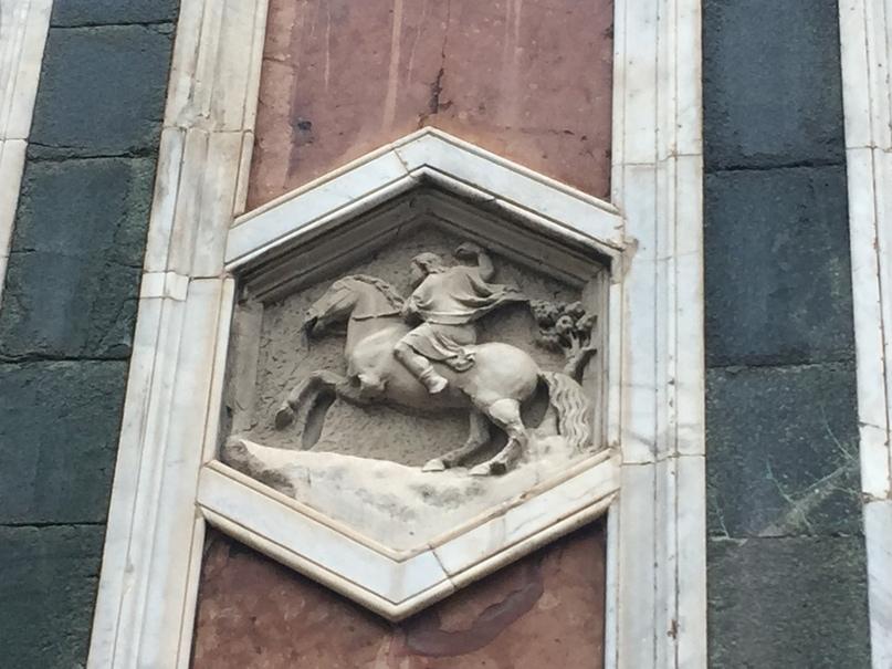 Приключения во Флоренции. украшения башни