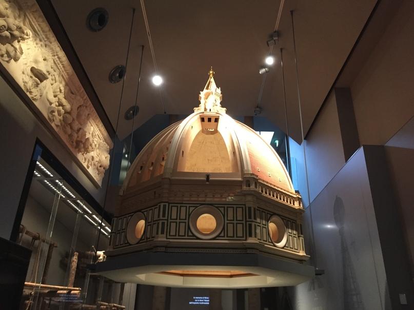 Приключения во Флоренции. Макет купола