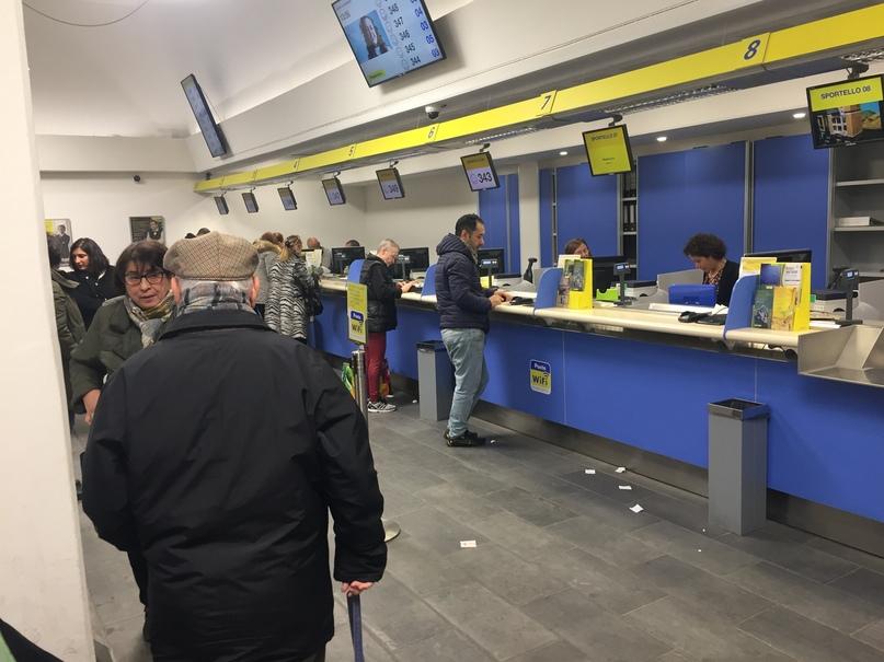 Приключения во Флоренции. Почта Италии