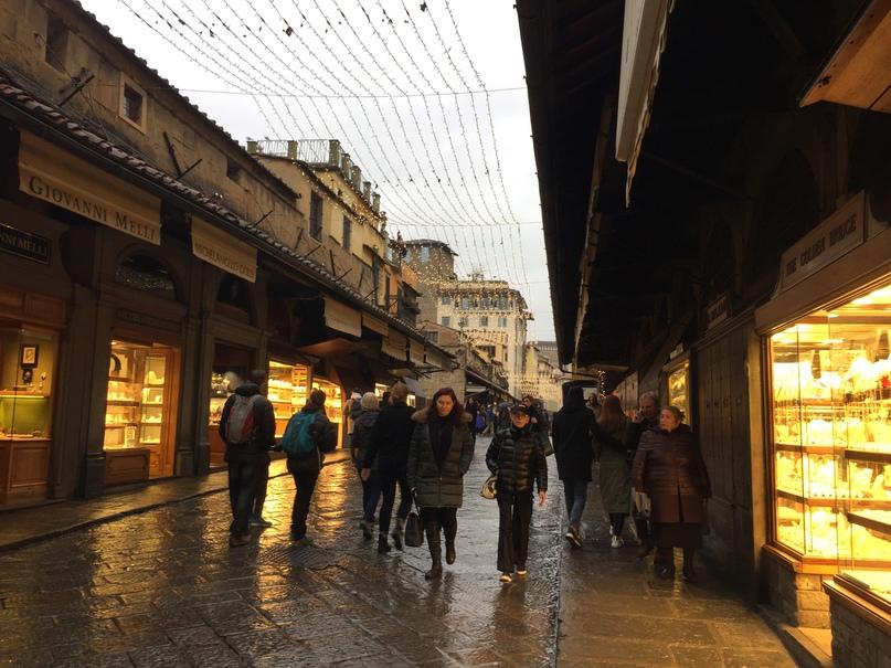 Приключения во Флоренции. Понте Веккьо