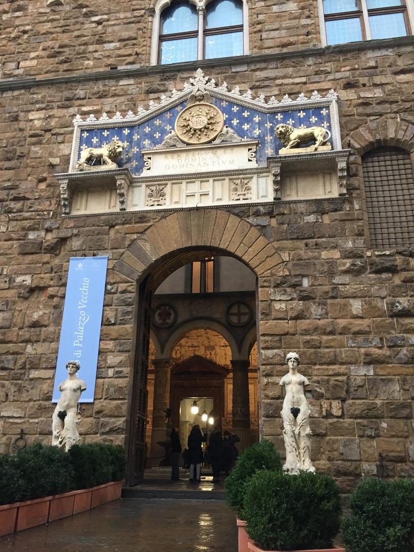 Приключения во Флоренции. Палаццо Веккьо