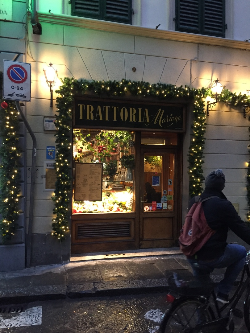 Приключения во Флоренции. Trattoria Marione