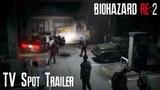GAS STATION  RESIDENT EVIL 2 REMAKE New Japanese TV SPOT Trailer