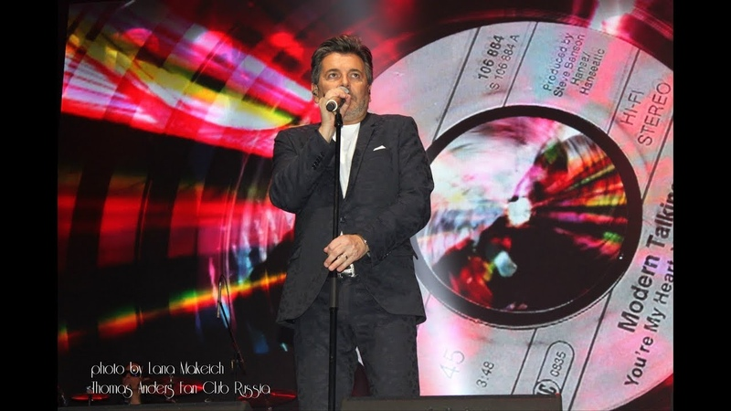 Thomas Anders - Modern Talking medley (Do You Wanna, Princess Of The Night, Heaven Will Know)