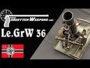 Обзор на немецкий 50мм Le GrW 36 легкий миномет(русские субтитры)