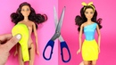 👗 DIY Barbie Dresses with Balloons Making Easy No Sew Clothes for Barbies Creative Fun for Kids