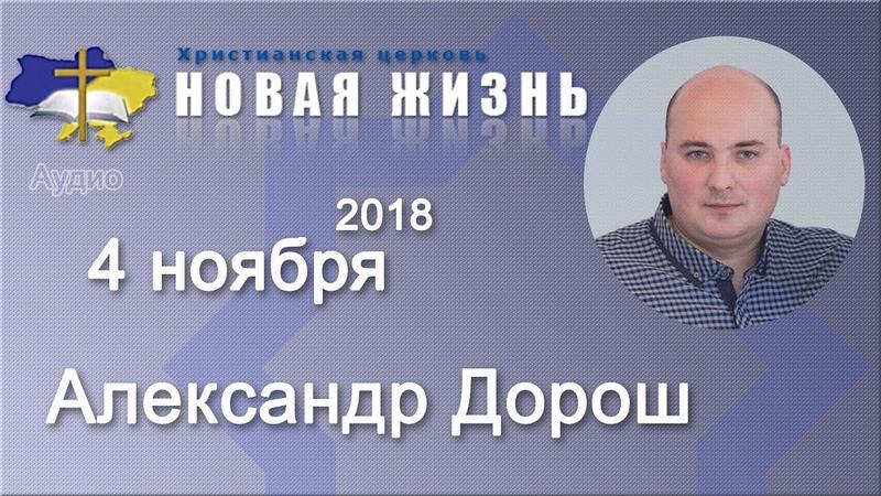 Александр Дорош Три ценных качества Варнавы 4 11 2018